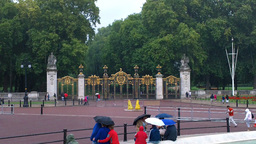 Green Park Entrance London Stock Video Footage