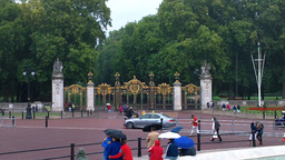 Green Park Entrance London Stock Video Footage
