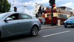 London Street 16 London Eye Westminster Stock Video Footage