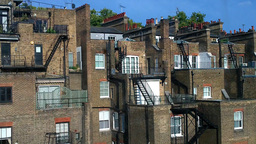 Old English Building London 03 Stock Video Footage