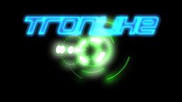 Tronlike Title stock footage