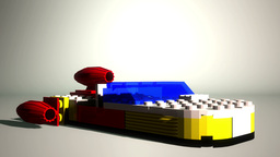 Lego Spaceship VBHD0039 Footage