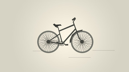 Bicycle VBHD0255 stock footage