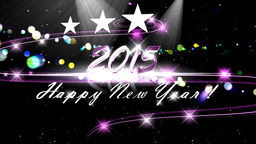 Happy New Year , 2015 stock footage