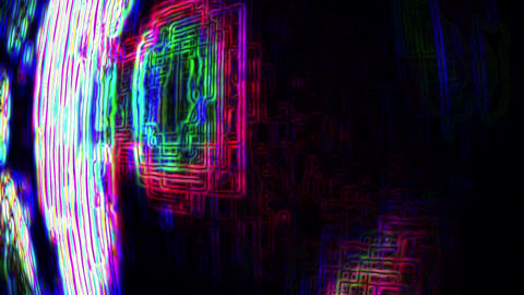 Abstract TV Noise 0783 Footage
