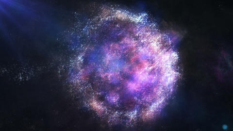 Nebula Metamorphose stock footage