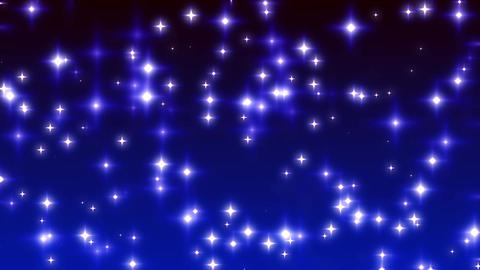 Blue Twinkling Stars on Ramp Background Loop 1 Animation