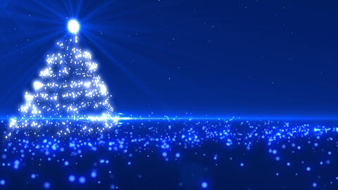 Blue Christmas tree 2 Animation