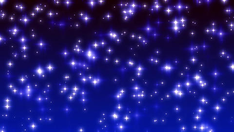 Blue Twinkling Stars on Ramp Background Loop 2 ภาพเคลื่อนไหว