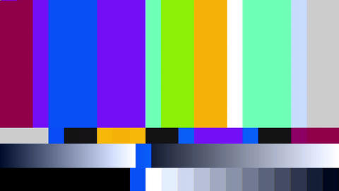 TV Color Bars Video Background 1540 Animation