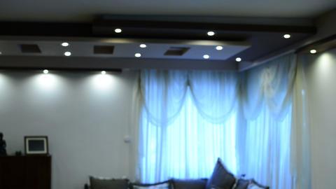 Ceiling lights Footage