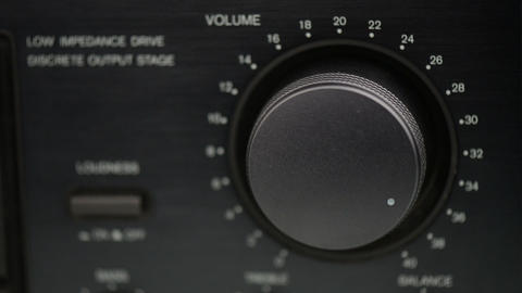 Volume Control Up And Down stock footage
