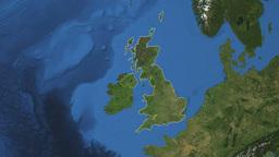 UNITED KINGDOM. Zoom in on UNITED KINGDOM Animation