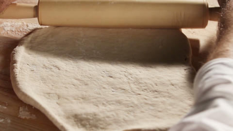Kneading the dough 3 Footage