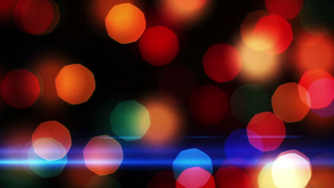Light Out of Focus Holiday background 4 Footage
