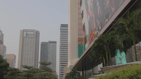 Att4fun building - farglory financial center - pan Footage