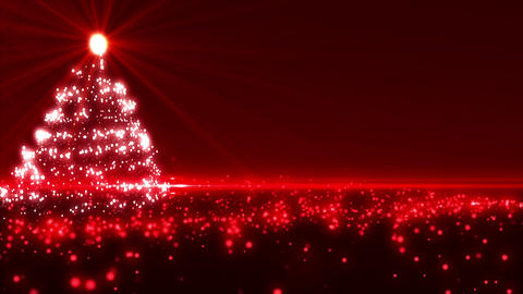 Red Christmas Tree Animation