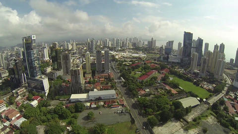 PANAMA CITY - NOV 5: Stunning view of Panama City, Footage