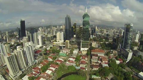 PANAMA CITY - NOV 5: Stock video footage of Downto Footage