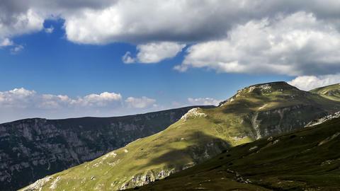 Romania mountains landscape time lapse Footage