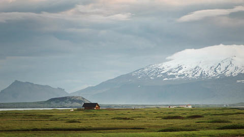Remote farmhouse in Iceland Footage