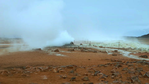 Iceland Hot Springs 31 stock footage