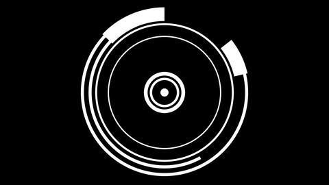 hypnotize circle wave Animation