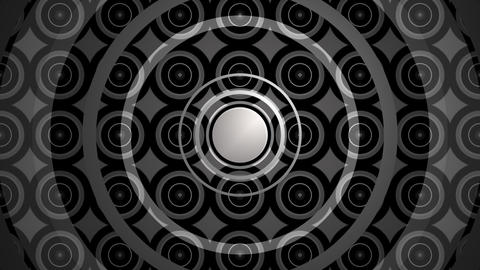 repeated circle kaleidoscope Animation