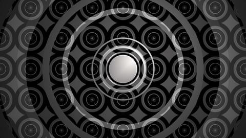 repeated circle kaleidoscope Animation
