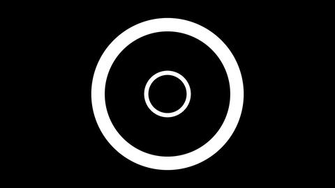 Graphic Circle Rotation stock footage