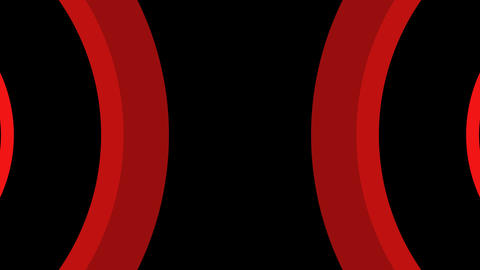 red curve mirror Animation