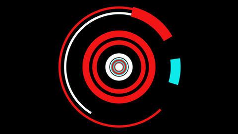 hypnotize color circle Animation