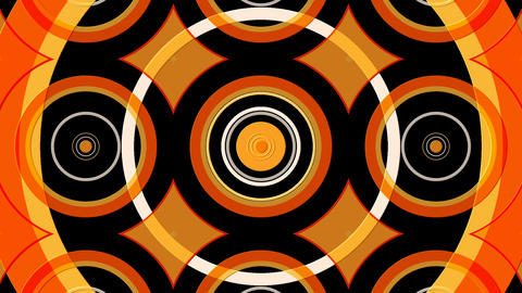 decorative circle lines Stock Video Footage