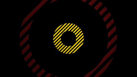 yellow red slant Animation