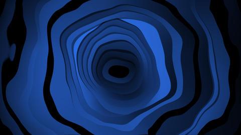 liquid blue wave Animation