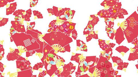Japanese Folding fan B 1 4k Animation