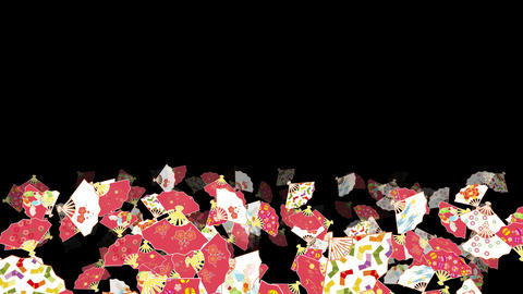 Japanese Folding fan Ad 1b 4k Animation