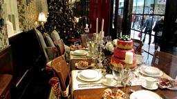 Christmas Window stock footage