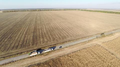 Plowed fields Footage