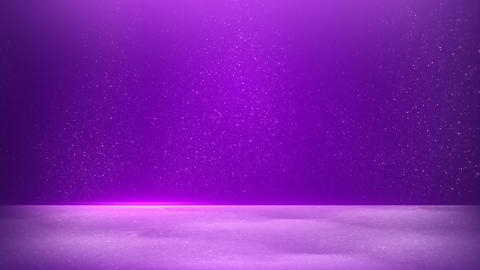 glitter dust on purple background seamless loop Animation