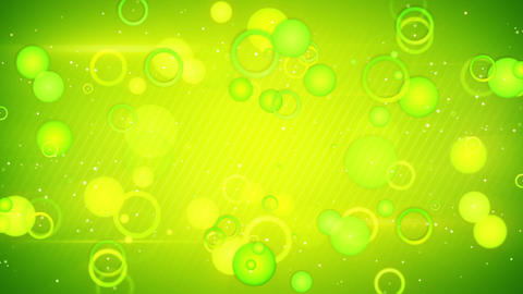 green circles loopable background Animation