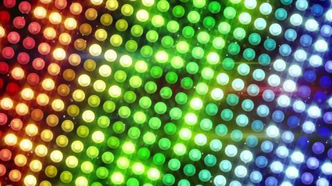 colorful lightbulbs holidays seamless loop backgro Animation