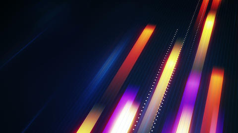 Fast Moving Stripes Symbolizing Data Transfer Loop stock footage