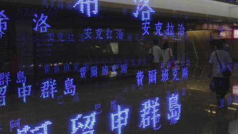 3d world time - taipei taoyuan airport 3 Live影片