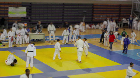 Judo Competition Live Action