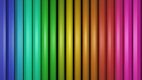 colorful vertical pencils Animation