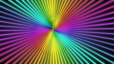 colorful sun burst Animation