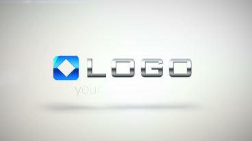 Clean Corporate 3 D Logo Fall Animation HD Intro After Effects Project