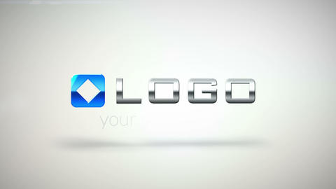 Clean Corporate 3 D Logo Fall Animation HD Intro After Effects Template