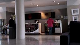 Hotel Lobby stock footage